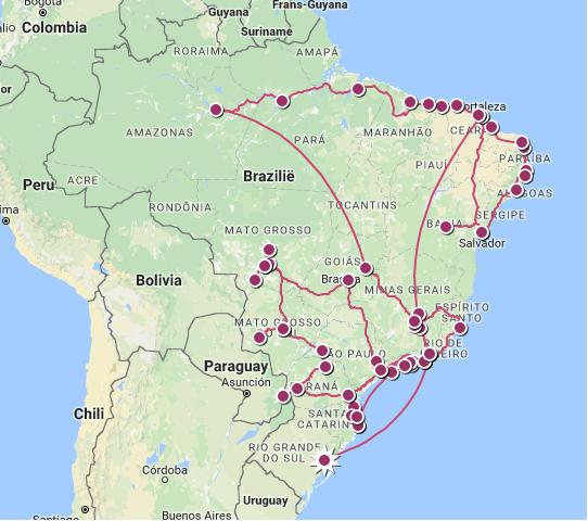 Travelmap 4